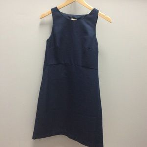 J. Crew blue dress with open back size 00